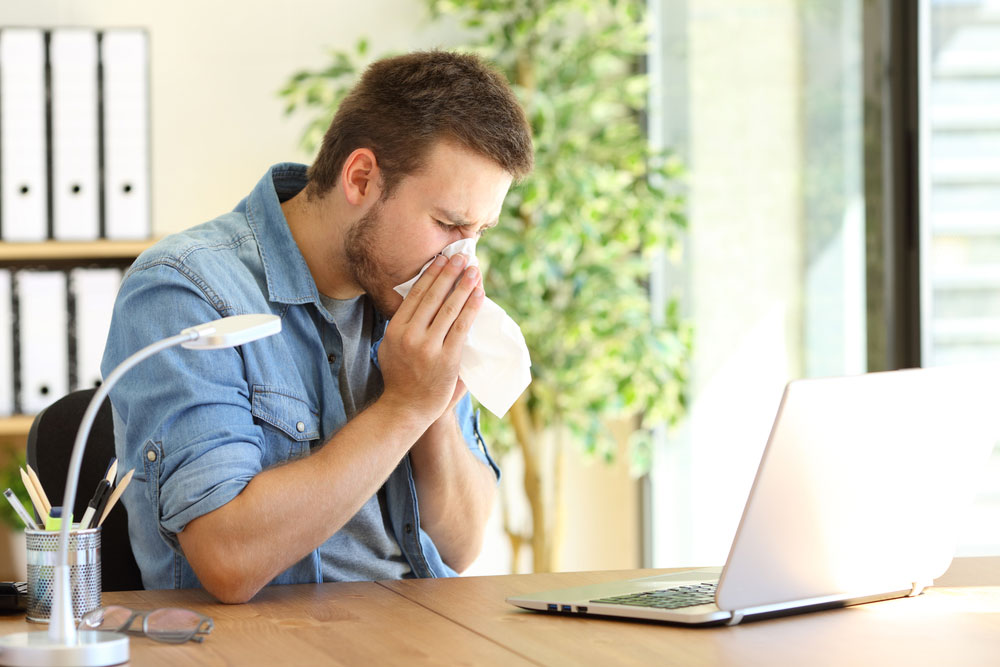 Improve IAQ Before Springtime Allergies Attack