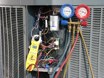 A/C Connections, Volts & Amps Check